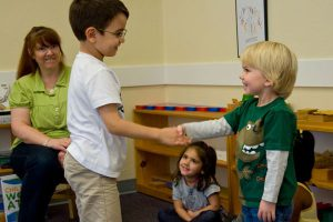 Teaching language for children with autism