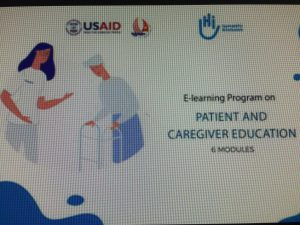 Release an E-learning course for Rehabilitation service providers on Patient and Caregiver Education